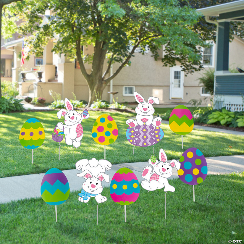 Easter Outdoor Yard Decorations Kit Image Thumbnail