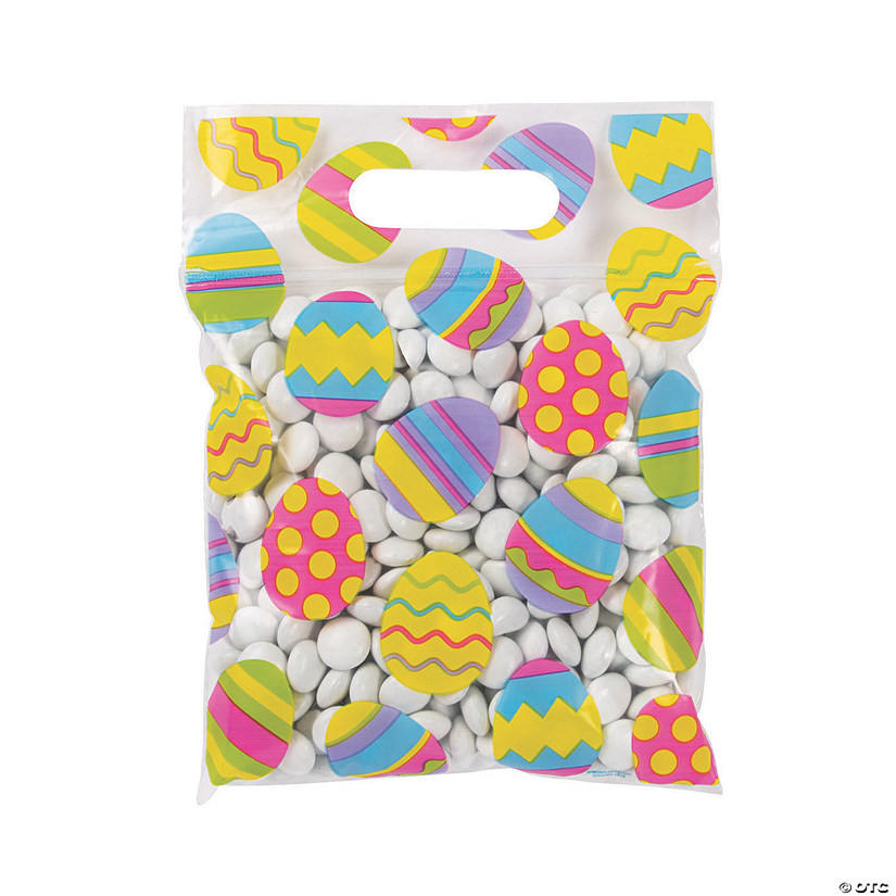 Easter Resealable Plastic Treat Bags Audio Thumbnail