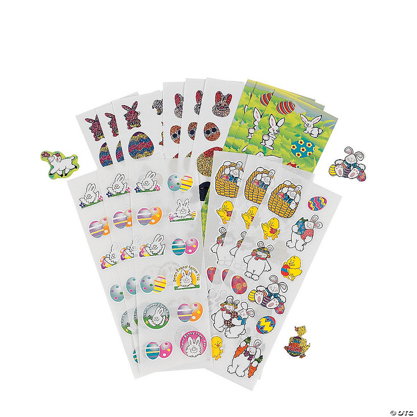 Easter Sticker Assortment Audio Thumbnail