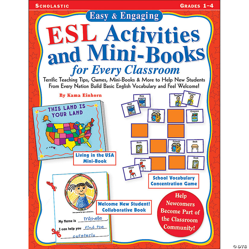 Easy & Engaging ESL Activities and Mini-Books for Every Classroom Audio Thumbnail