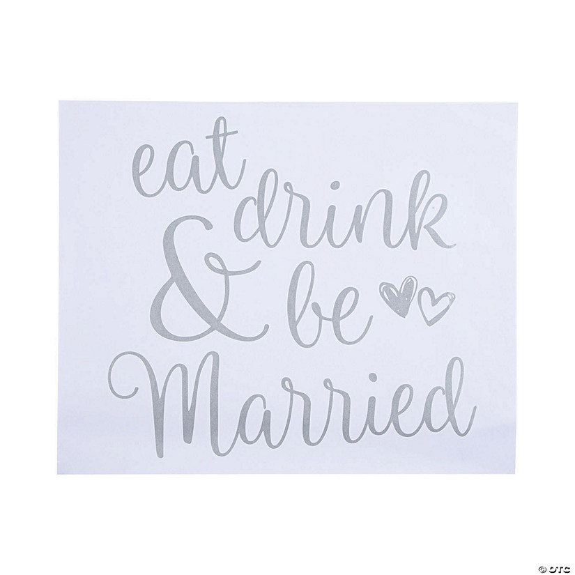 Eat, Drink & Be Married Placemats Audio Thumbnail