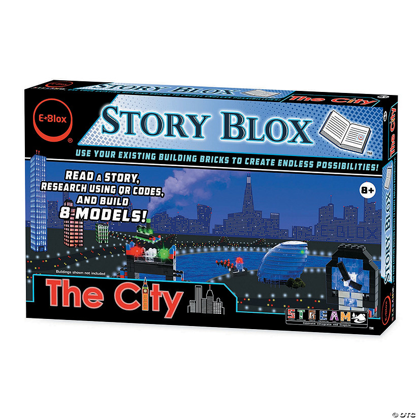 Eblox Stories: The City Audio Thumbnail