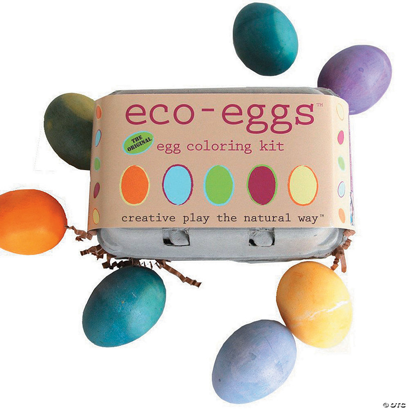 Eco-Kids Eco-Eggs Coloring Kit Audio Thumbnail