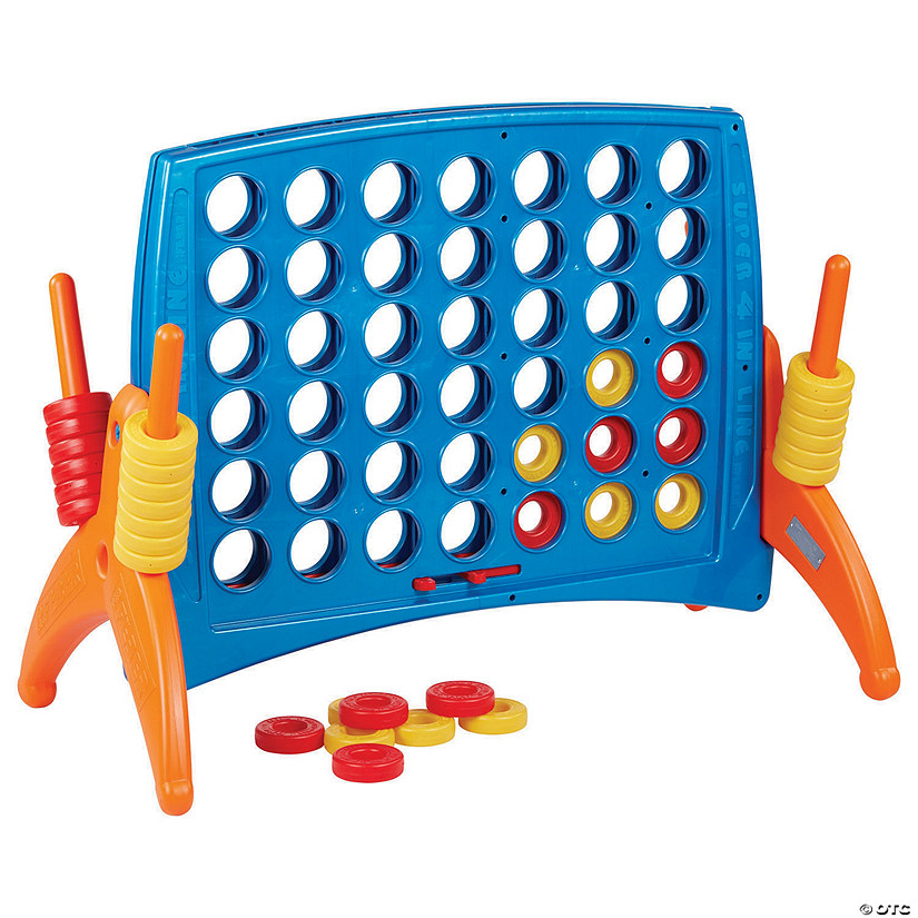 ECR4Kids Junior 4-to-Score Giant Game Set - Primary Colors Audio Thumbnail