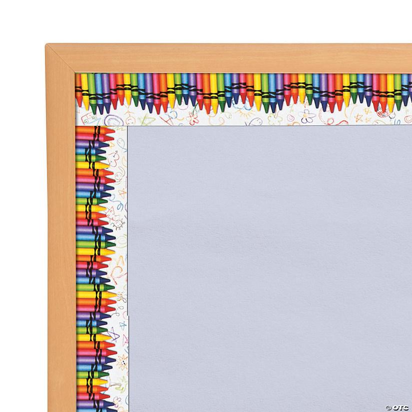 Edupress Crayon Bulletin Board Borders