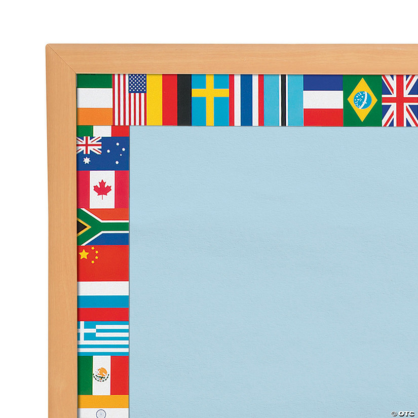 Edupress® Flag Bulletin Board Borders
