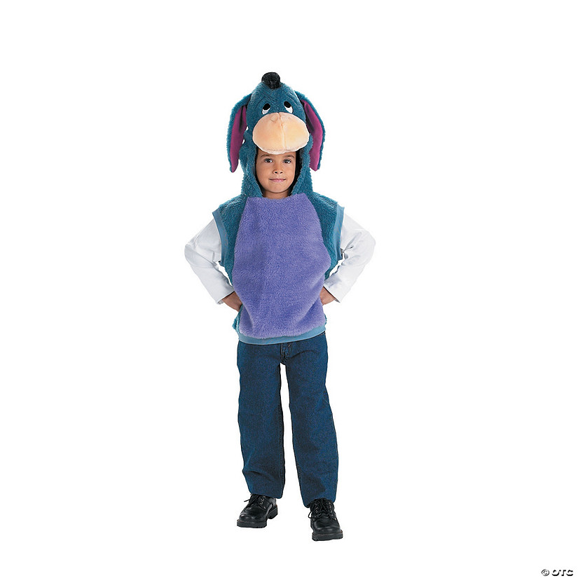 Eeyore Vest Kid's Costume Audio Thumbnail
