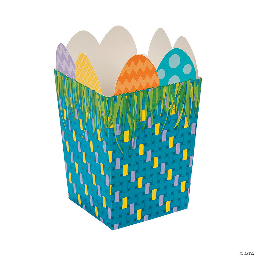 Egg-Topped Easter Favor Boxes