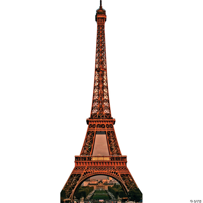 Eiffel Tower Cardboard Stand-Up
