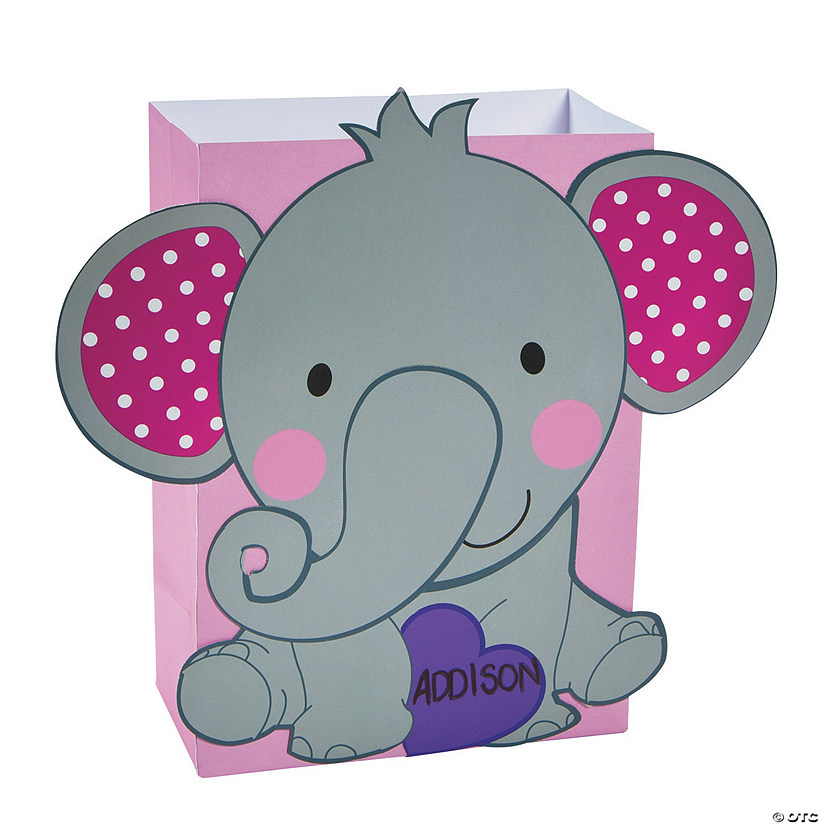 Elephant Valentine Card Holder Craft Kit - Discontinued