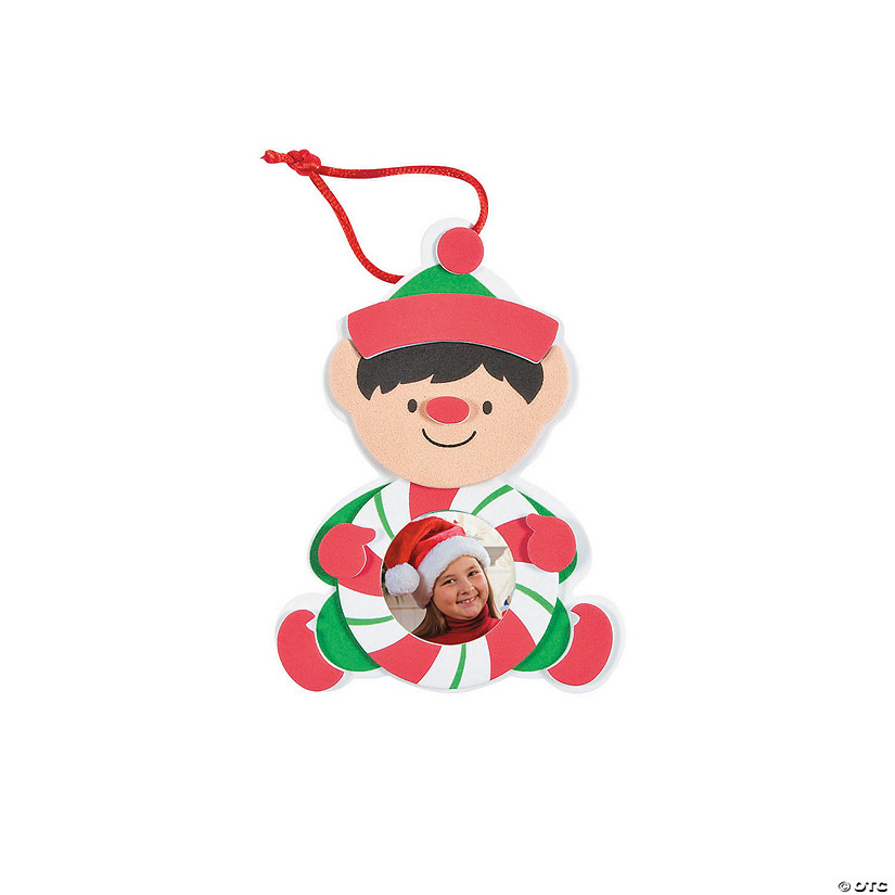 Elf Picture Frame Ornament Craft Kit Audio Thumbnail