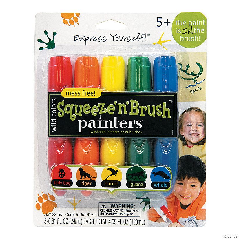 Elmer's<sup>®</sup> Rainbow Squeeze'n'Brush<sup>™</sup> Painters<sup>®</sup> - Rainbow