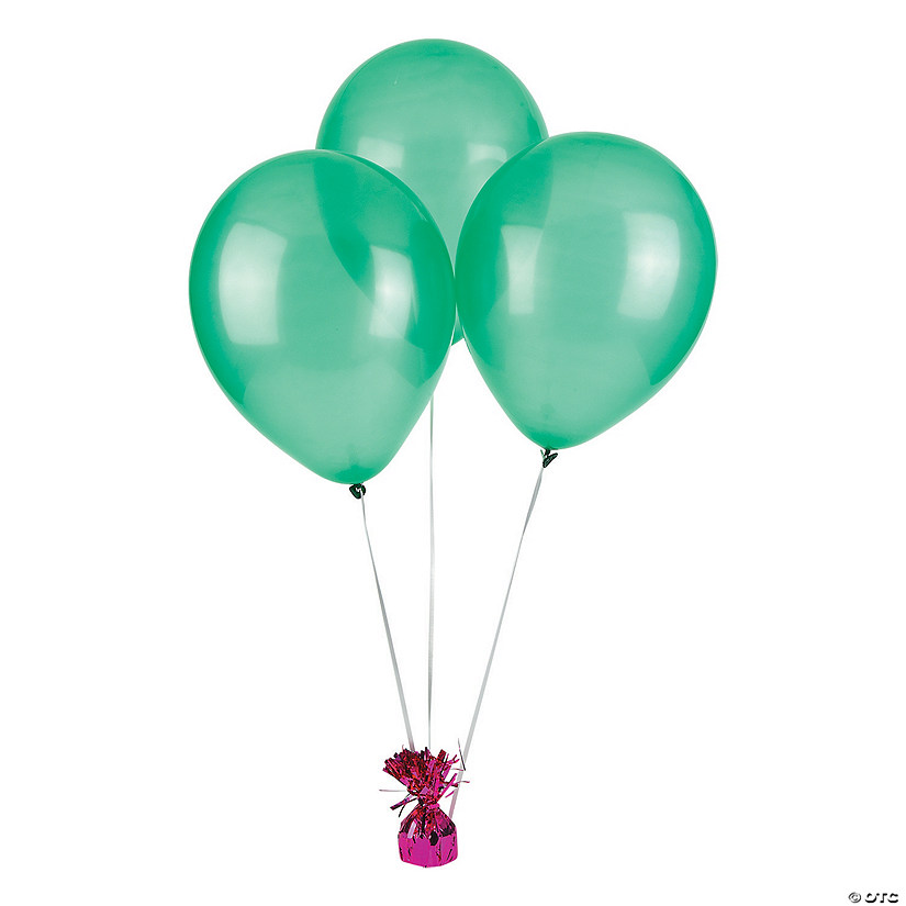 "Emerald Green 11"" Latex Balloons Audio Thumbnail"