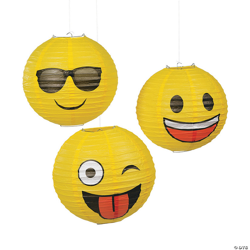 Emoji Hanging Paper Lanterns Audio Thumbnail