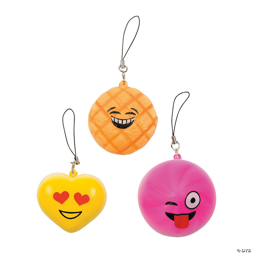 Emoji Slow-Rising Squishies