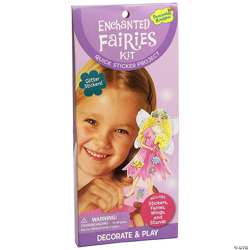 Enchanted Fairies Quick Sticker Kit