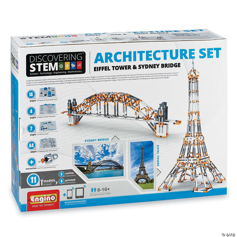 Engino Deluxe Architecture Set Image Thumbnail