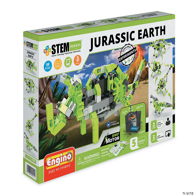 Engino STEM Heroes: Jurassic Earth