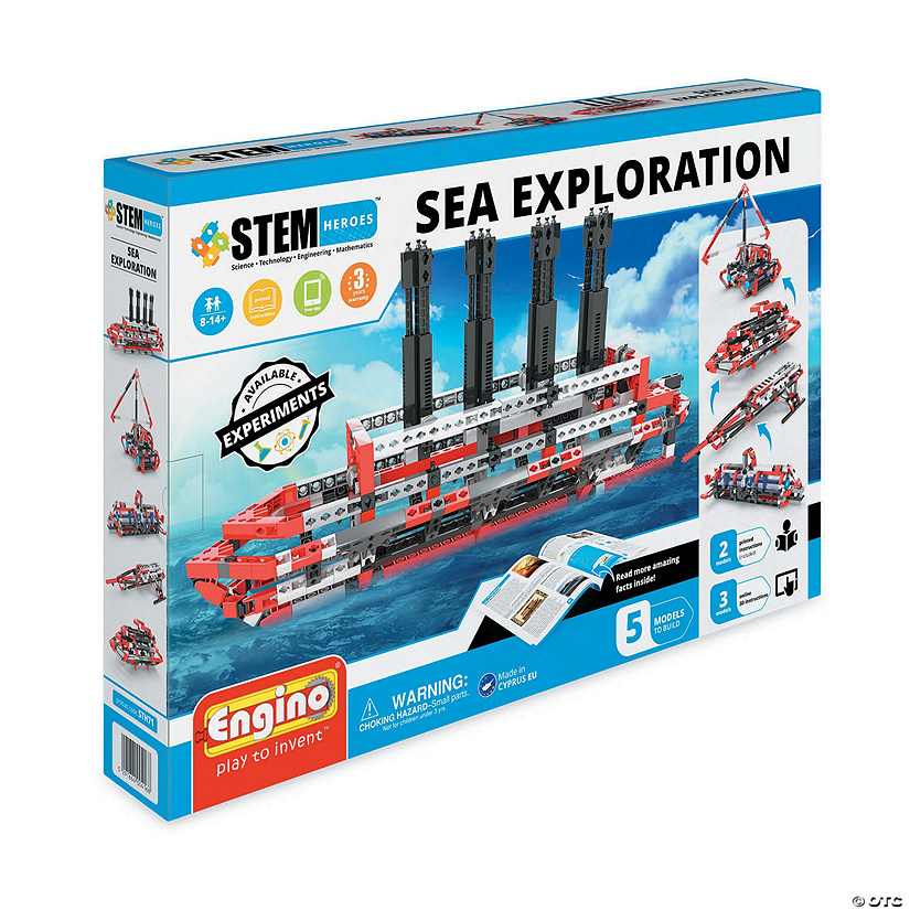 Engino STEM Heroes: Sea Exploration Image Thumbnail