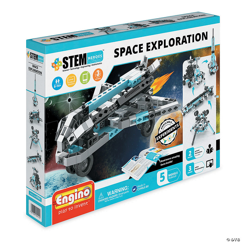Engino STEM Heroes Space Exploration Audio Thumbnail