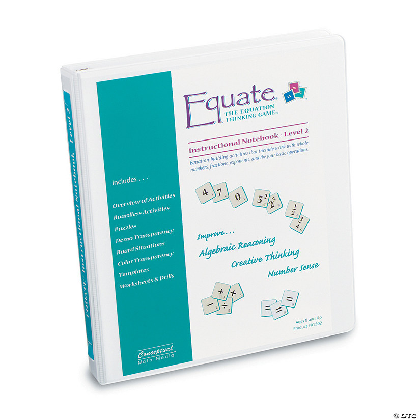 Equate Activity Notebook Level 2