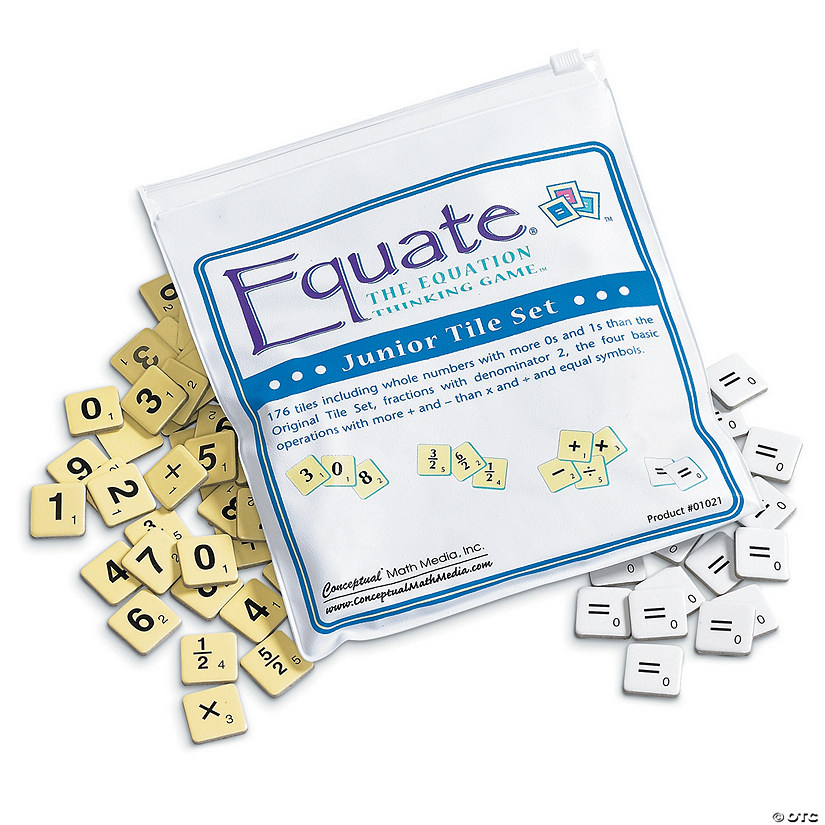 Equate Jr Tile Set