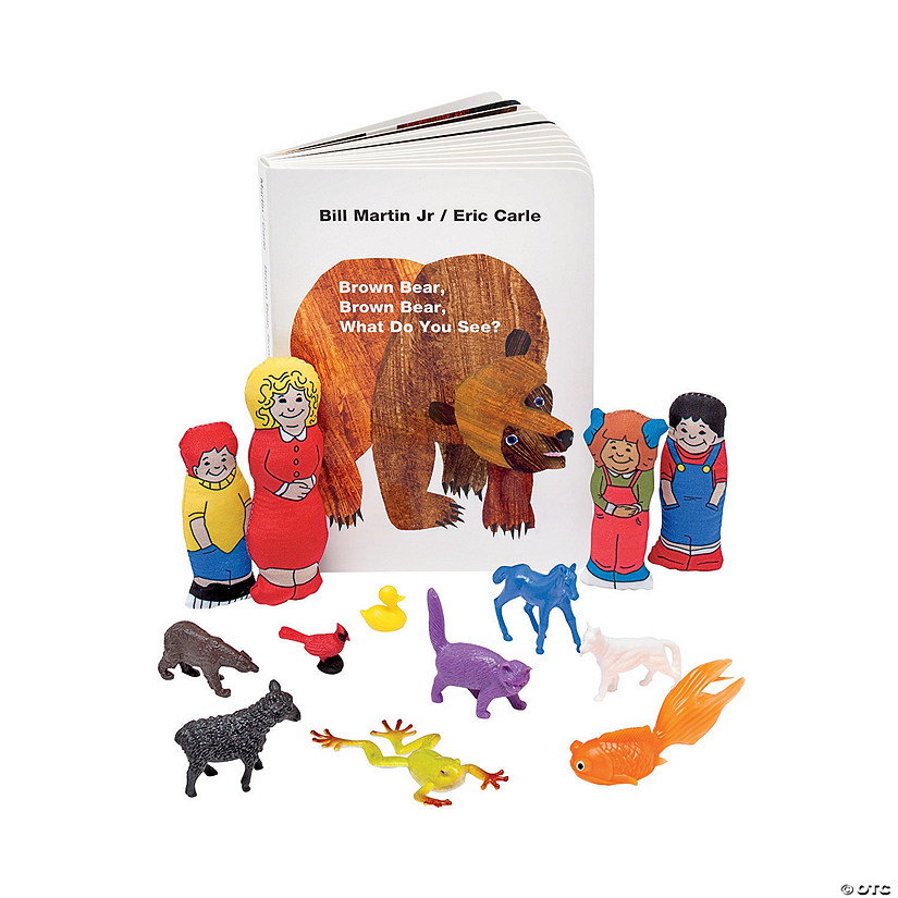 Eric Carle's Brown Bear, Brown Bear, What Do You See? 3D Storybook