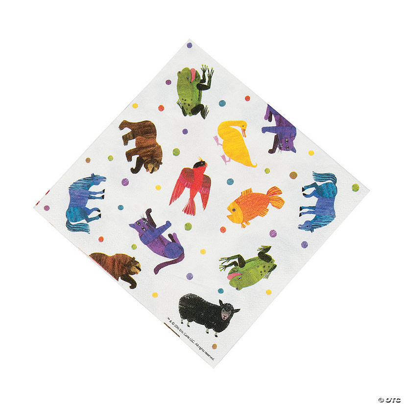 Eric Carle's Brown Bear, Brown Bear, What Do You See? Luncheon Napkins Audio Thumbnail