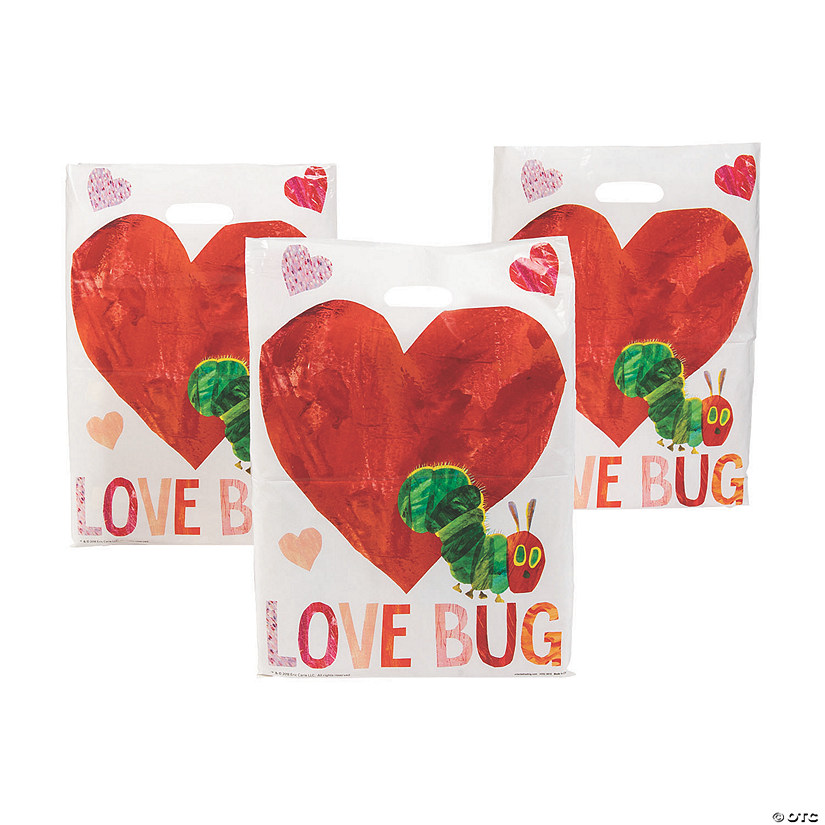 Eric Carle™ The Very Hungry Caterpillar Valentine Goody Bags Audio Thumbnail