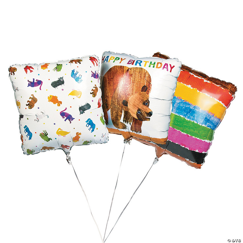 "Eric Carle's Brown Bear, Brown Bear, What Do You See? 17"" Mylar Balloons Audio Thumbnail"