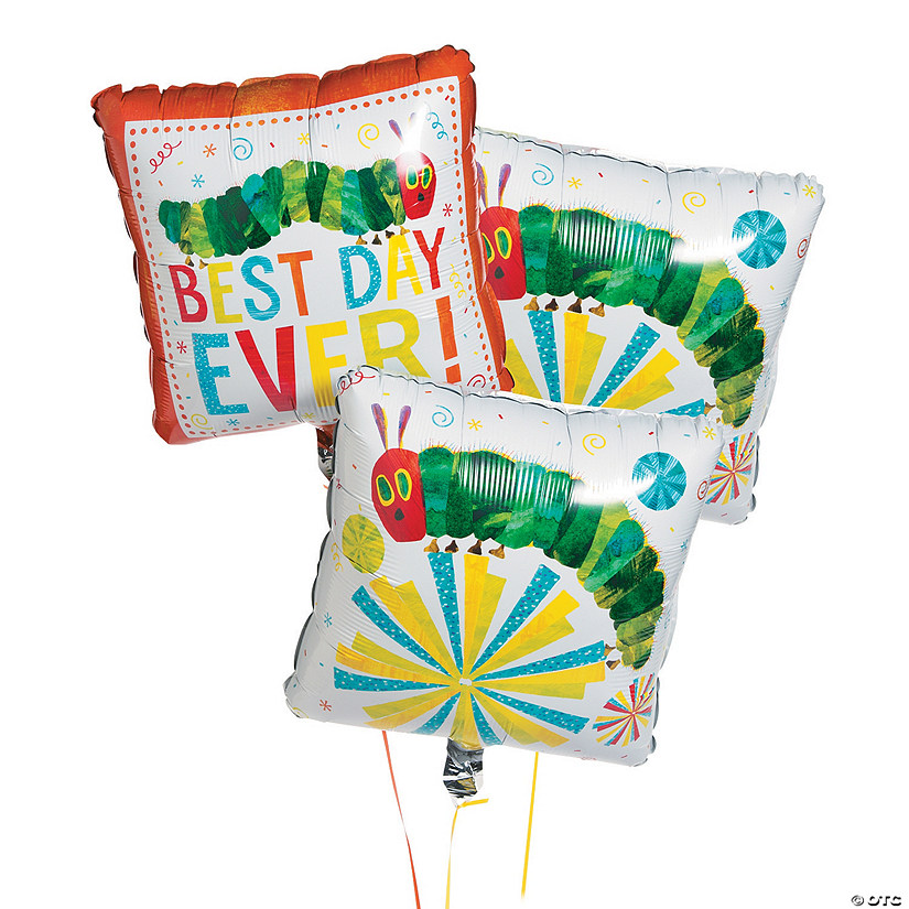 "Eric Carle's The Very Hungry Caterpillar™ 17"" Mylar Balloons Image Thumbnail"