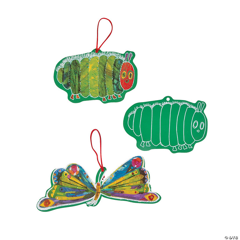 Eric Carle's The Very Hungry Caterpillar™ Scratch 'N Reveal Ornaments