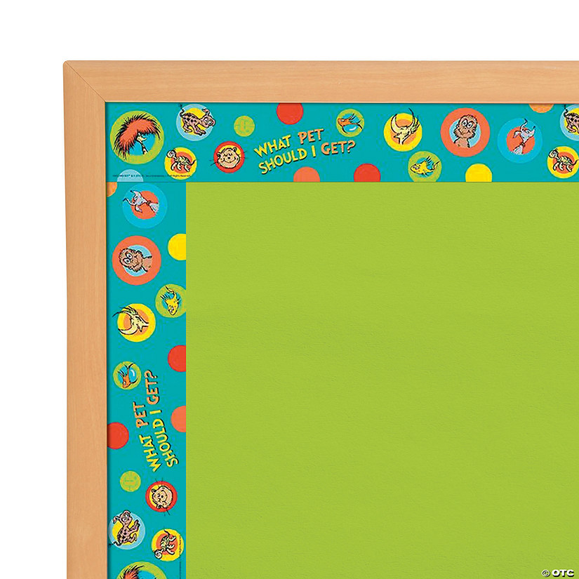 Eureka<sup>®</sup> Dr. Seuss<sup>™</sup> What Pet Should I Get Bulletin Board Borders