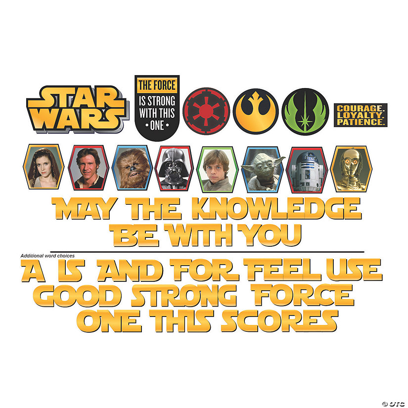 Eureka<sup>®</sup> Star Wars™ Mini Bulletin Board Set