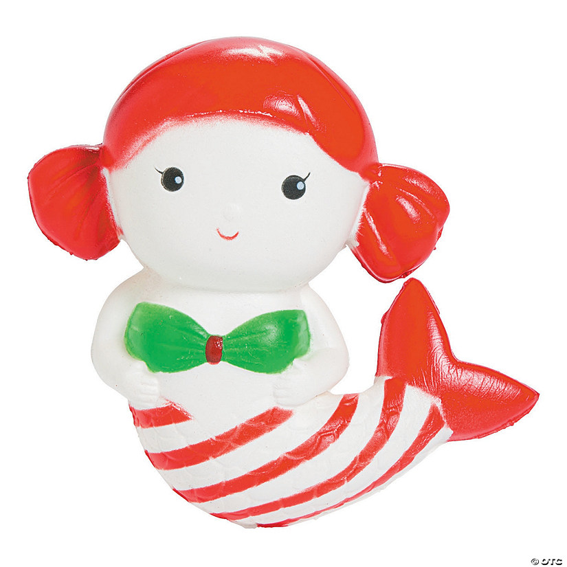 Expressions<sup>®</sup> Christmas Mermaid Scented Slow-Rise Squishy