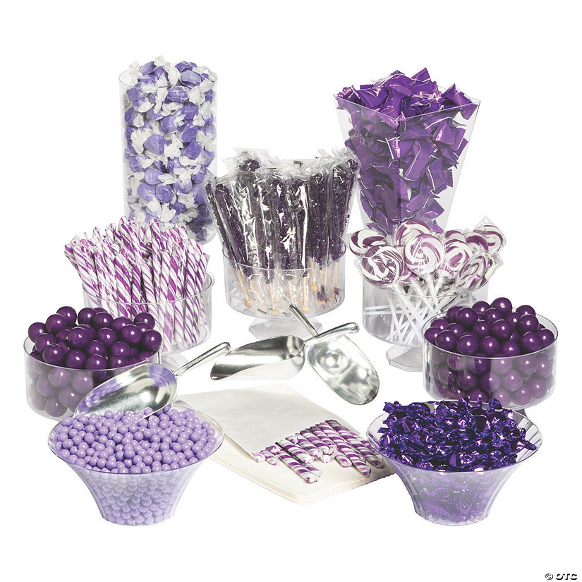 Extra Large Purple Candy Buffet Kit Audio Thumbnail