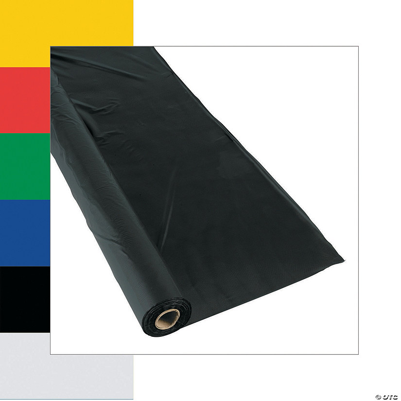 Extra Long Plastic Tablecloth Rolls Image Thumbnail