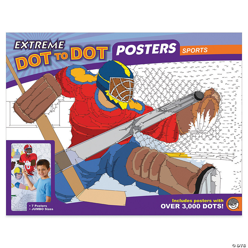 Extreme Dot to Dot 7-Poster Set: Sports Image Thumbnail