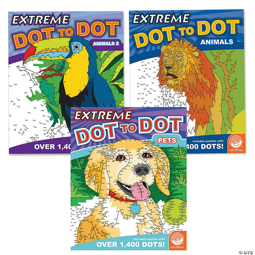 Extreme Dot to Dot: Animal Favorites Set of 3 Image Thumbnail