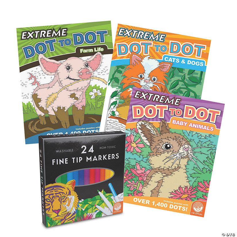 Extreme Dot to Dot: Animal Lives Set of 3 Image Thumbnail