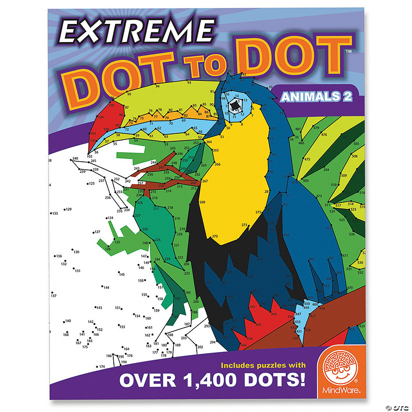 Extreme Dot to Dot: Animals 2 Image Thumbnail