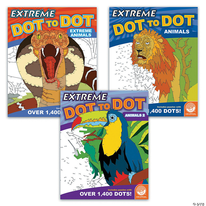 Extreme Dot to Dot Animals: Set of 3 Image Thumbnail