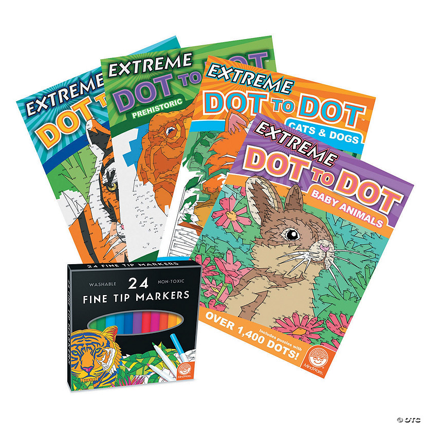 Extreme Dot to Dot: Animals Set of 4 Audio Thumbnail
