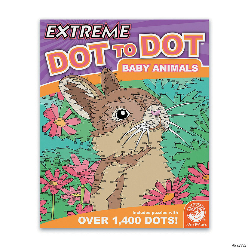 Extreme Dot to Dot: Baby Animals Image Thumbnail