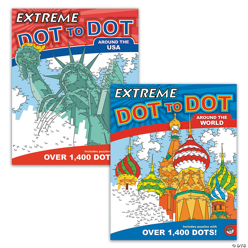 Extreme Dot to Dot: Destinations Set of 2