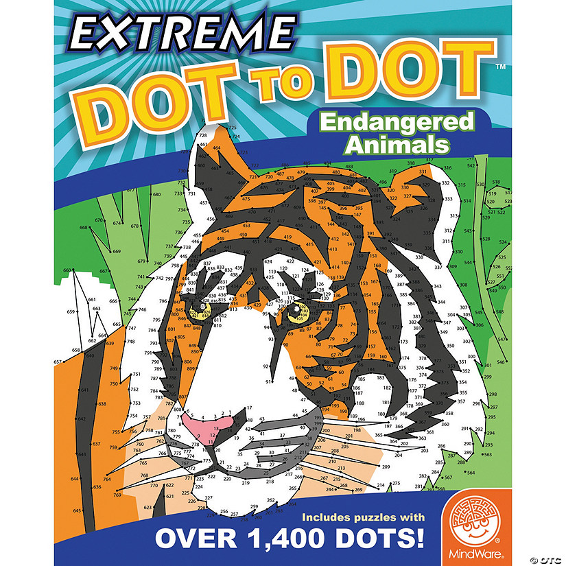 Extreme Dot to Dot: Endangered Animals