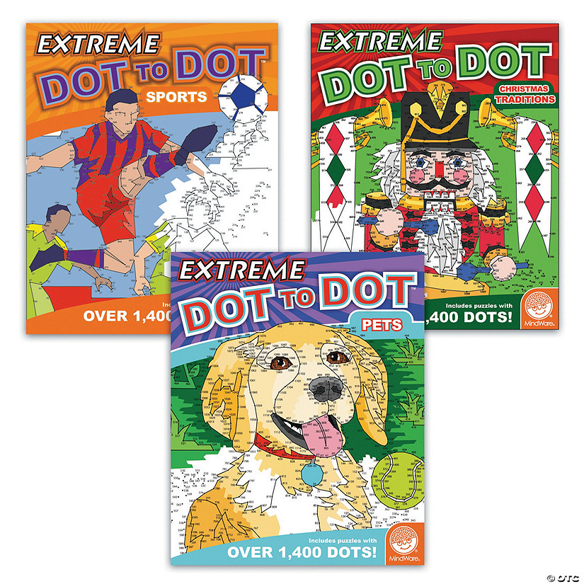 Extreme Dot to Dot: Favorites Set of 3