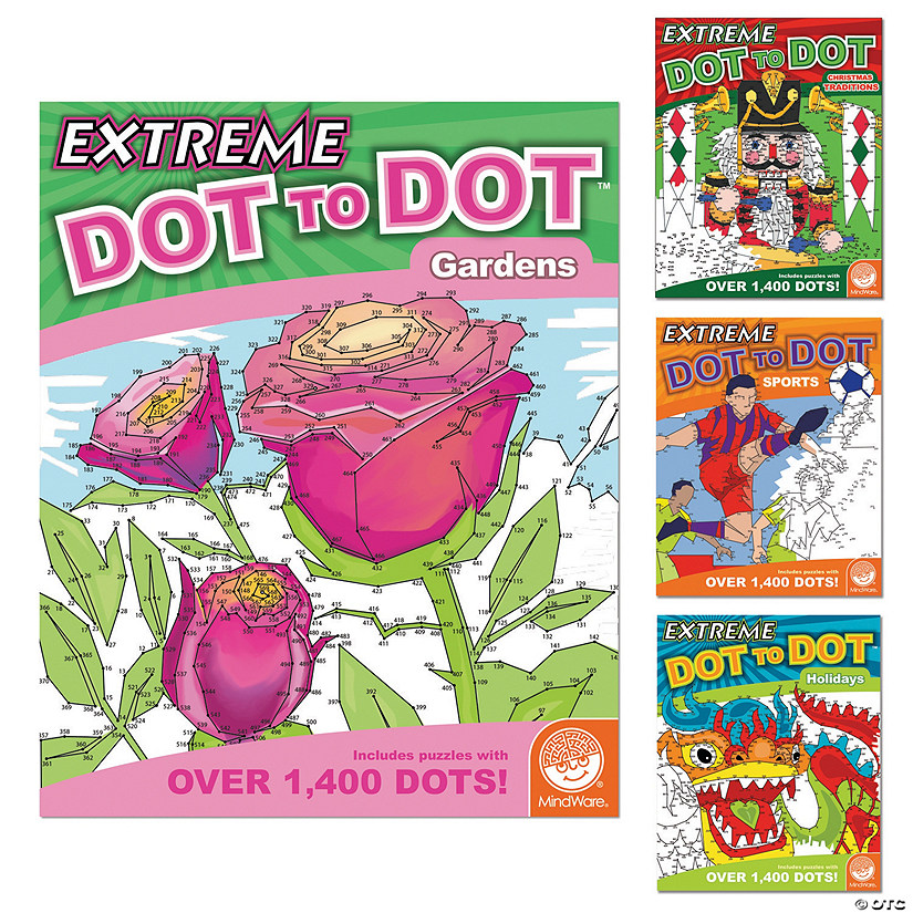 Extreme Dot to Dot Favorites: Set of 4 Audio Thumbnail