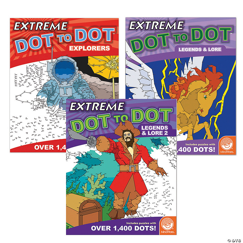 Extreme Dot to Dot: Heroes & Legends: Set of 3 Audio Thumbnail