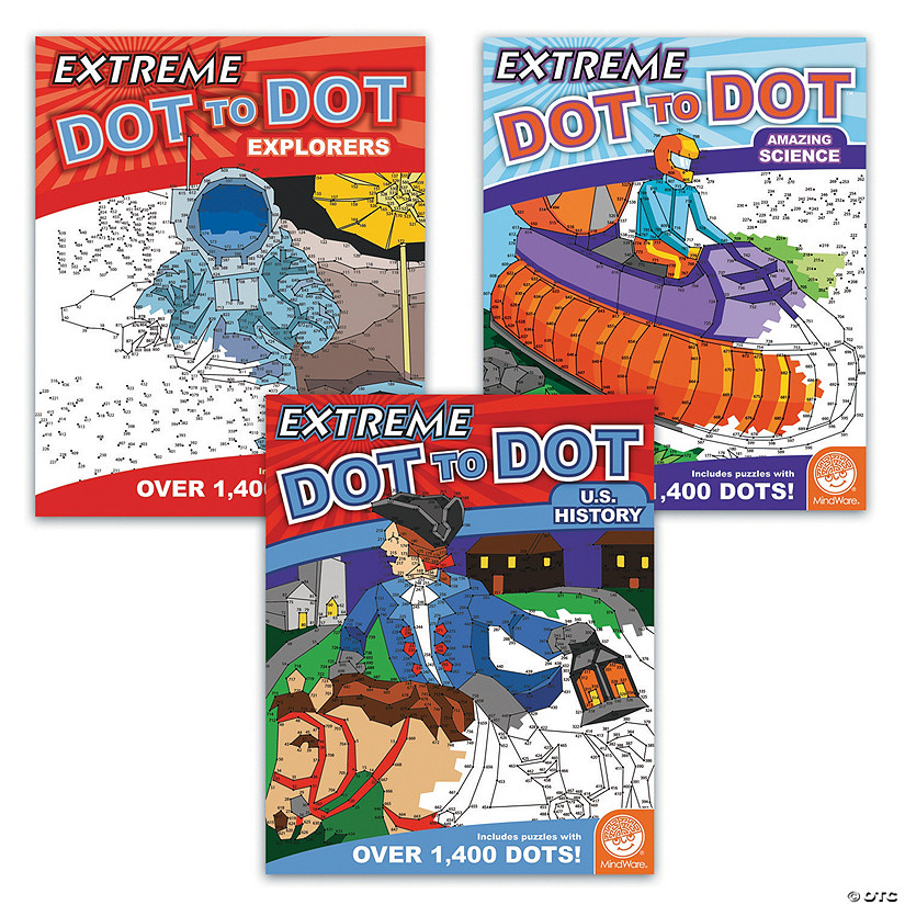 Extreme Dot to Dot: History Set of 3
